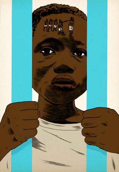 Child sold to slavery in israeli prison