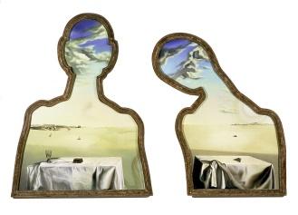 Salvador Dalí Couple aux têtes pleines de nuages 1936