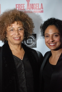 Angela and Director Shola Lynch