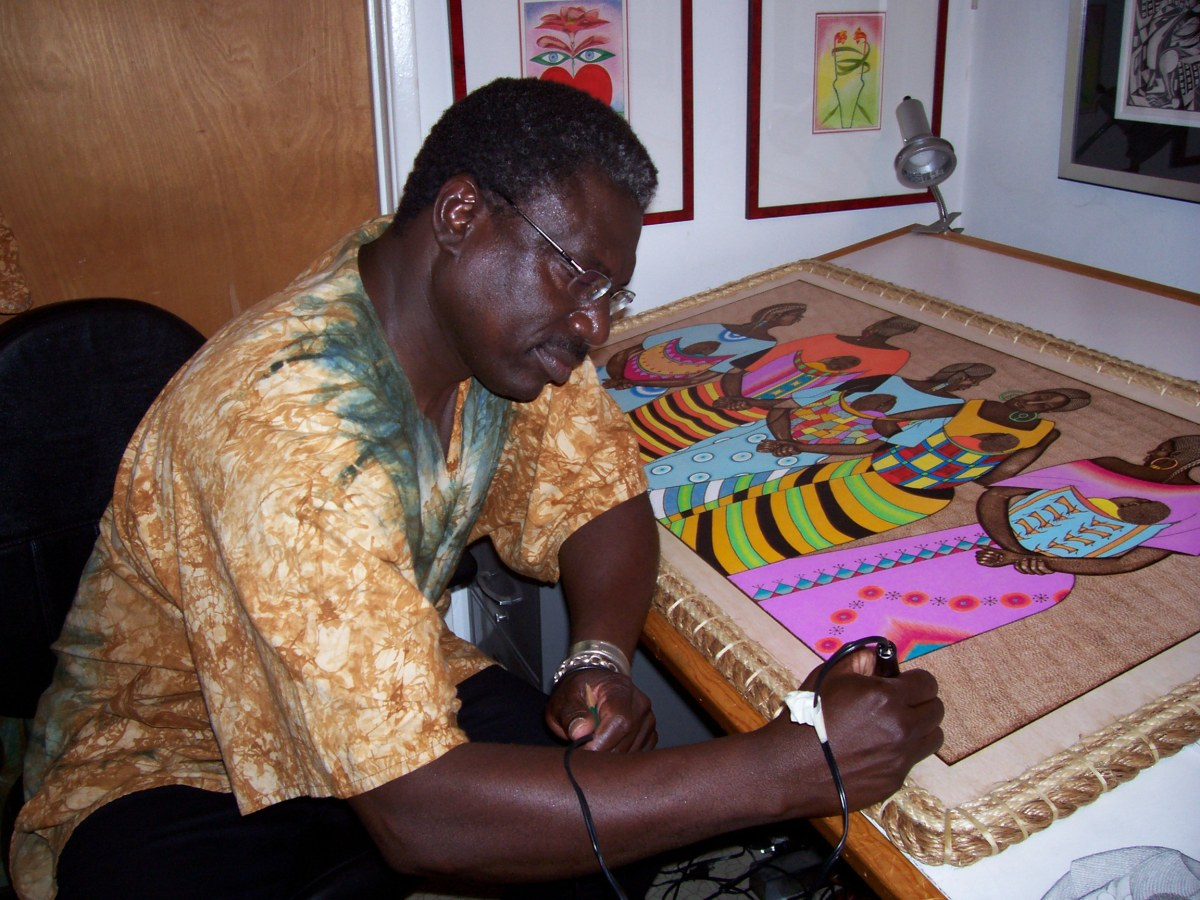 Pan African Film Festival Featured Artist: Djibril N'Doye